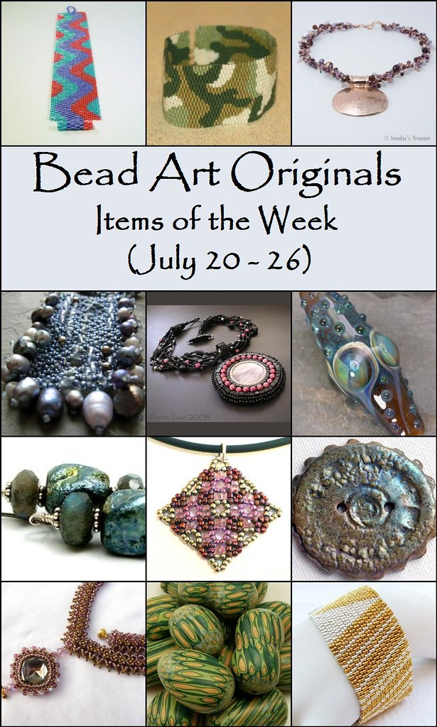 Bead Art Originals Items of the Week (7/20-7/26)