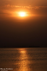 Sunrise (RASHID ALKUBAISI) Tags: sky sun sunrise nikon doha qatar rashid راشد d90 alkubaisi الكبيسي ralkubaisi