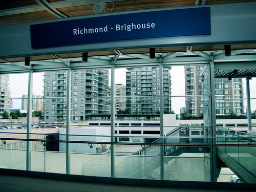 Canada Line Preview Tour - Richmond-Brighouse