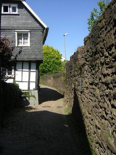 town wall inside