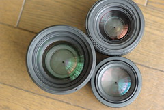 SIGMA50mmF1.4とSIGMA30mmF1.4とPENTAX FA50mmF1.4