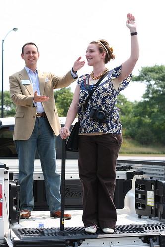 Ford Prom Queen (@scottmonty is my presenter)