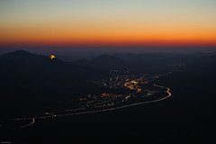 Sunset over Annweiler