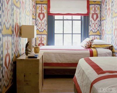 the estate of things chooses ikat twin beds