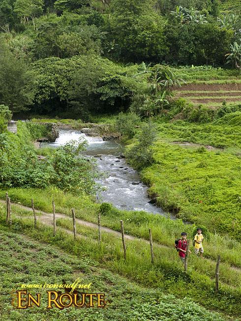 Imugan River and Locals