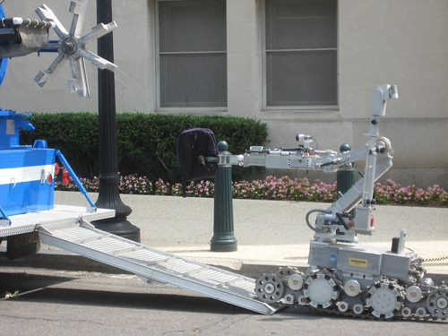 Capitol Police bomb disposal robot
