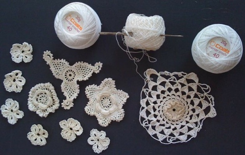 Quite Incongruously  I Found Eithne D   Arcy   S Irish Crochet Lace