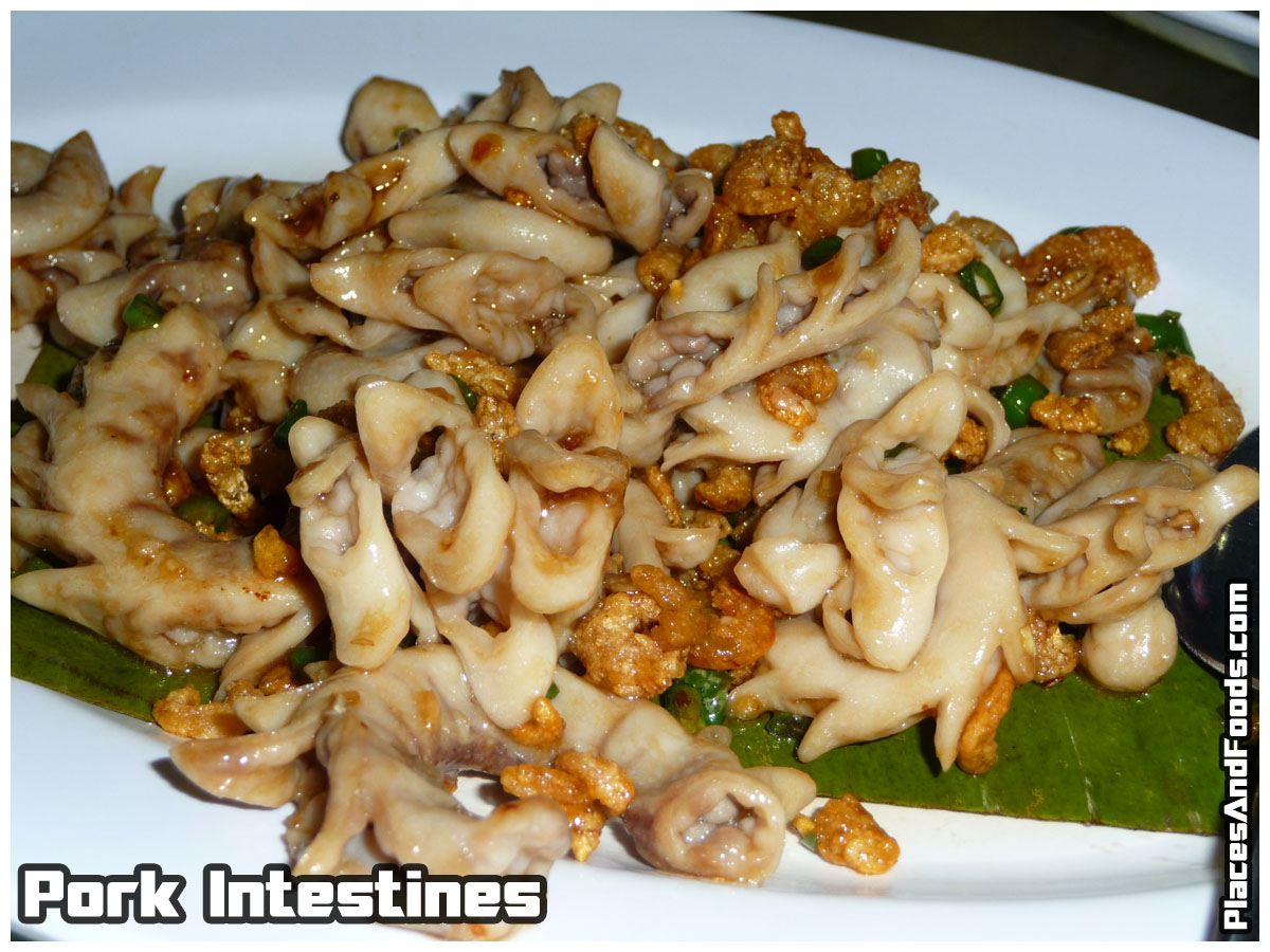pork intestines