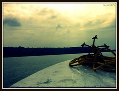 Anchor...A Hope that Holds!! [Explored #363] (D a r s h i) Tags: light sea sky mountain beach clouds boat rope anchor seashore n70 harihareshwar konkan langar darshi darshita