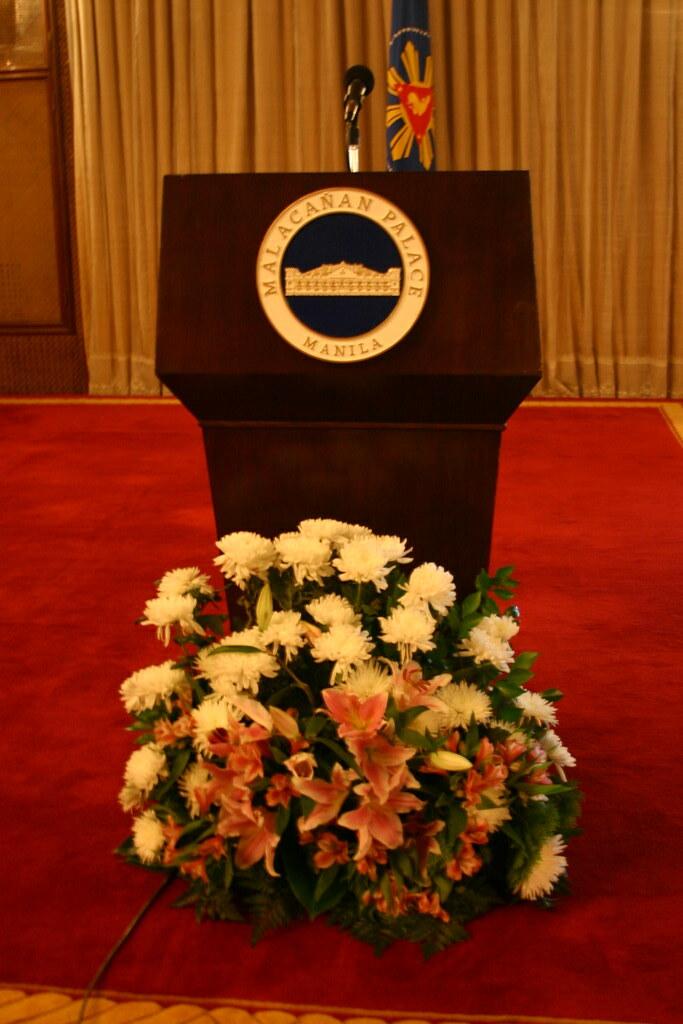 Pres. Gloria Macapagal Arroyos Podium