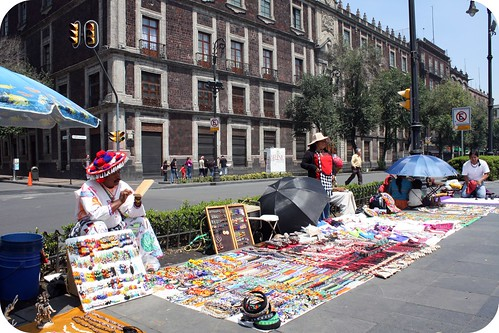 zocolo sellers, Mexico City by you.