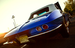 Chevrolet Corvette C2 Sting Ray (Jeff_B.) Tags: auto blue classic chevrolet car vintage classiccar automobile gm stingray chevy corvette c2 vette generalmotors gmfyi