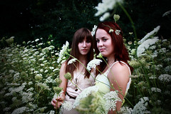 (and in a breath...) Tags: flowers autumn girls friends summer sun cute green fall love nature girl field grass vintage pretty dress friendship natural bright antique sunny trendy slip lovely