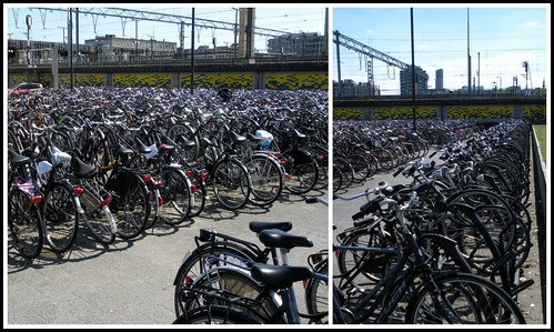 Bikes at the Station