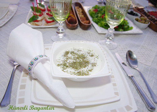 Yoğurtlu Soğuk Çorba