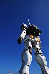 Mobile Suit Gundam RX78_14 (ajari) Tags: blue sky japan tokyo robot nikon   odaiba gundam    d300   rx78 sigma1850mmf28exdcmacrohsm mobilesui mobilesuitgundamrx78