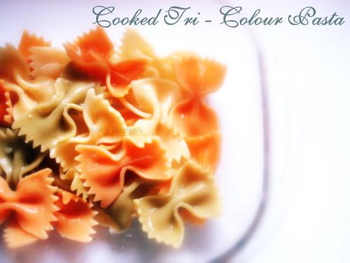 Tri - Colour Pasta