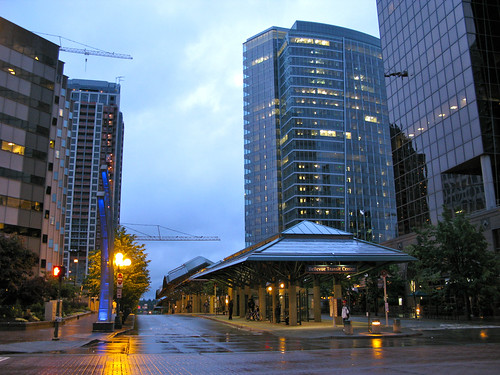 Bellevue Transit Center, by Oran
