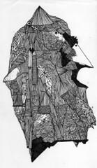 psichedelia 2009 - 7 (108 is NIHIL) Tags: black paper drawing neuro abstarct nero carta 108 pazzo psichedelia