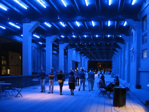 High Line Park at Night