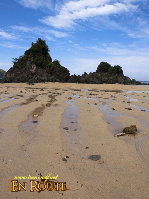 Puraran Beach Sand Patterns