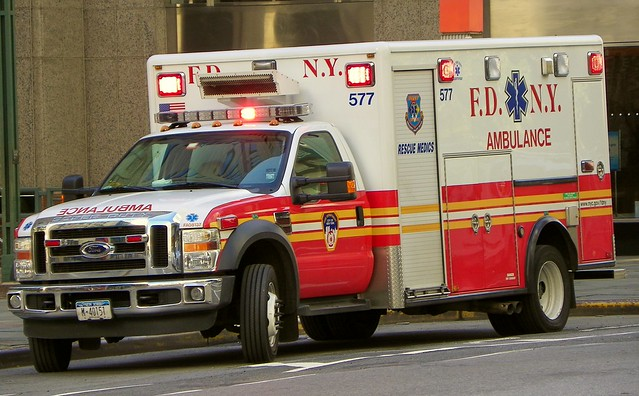 newyorkcity newyork bus ford brooklyn ambulance ems fdny firedepartment emergenctmedicalservice rescuemedic