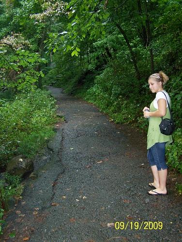 Kelsey at Amicalola Falls State Park