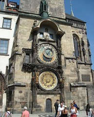 The Astronomical Clock (ZokaZ) Tags: travel holiday architecture prague cities praha zoka odmor astronomicalcloc