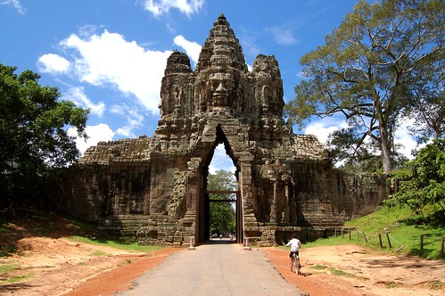 Main Gate to Angkor Thom