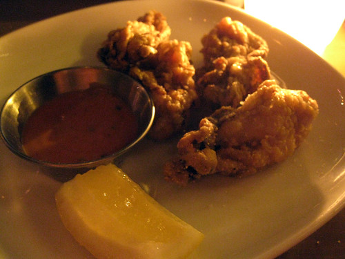 Fried Oysters with Remoulade