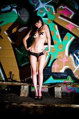 Urban Glamour (Tucker Photography) Tags: ladies portrait urban woman hot cute beautiful panties naked glamour women sweet young teens 100v10f teen tape topless brunette exploration stripping hottest urbex