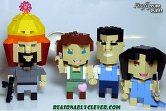 CubeDude Firefly Cast - Group Shot 2