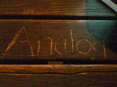 Analog origins
