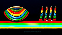 Rainbow Cutlery (Sony200boy) Tags: longexposure blue red england copyright abstract reflection green colors yellow wow reflections fun rainbow long exposure colours unitedkingdom sony creative experiment fork spoon reflexions primary cutlery primarycolors primarycolours rainbowfun allrightsreserved forkandspoon spoonandfork challengeyouwinner colorphotoaward diamondclassphotographer flickrdiamond sal18250 sonyalphadslra200 mbpictures mostbeautifulpictures apoy09 sony200boy
