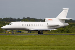 N85CL - 167 - Private - Dassault Falcon 900EX - Luton - 090507 - Steven Gray - IMG_2312