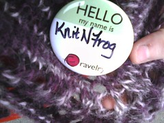 FWD: Just saw @ravelry jess and casey plus a knit bob mascot! #rhinebeck