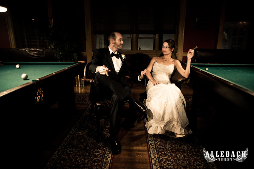 Alice & Mark at the Stotesbury Mansion Philadelphia