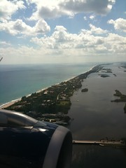 View flying in to West Palm
