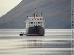 Hebridean Princess bow