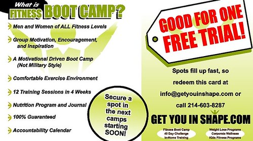 Dallas and Coppell Fitness Boot Camp