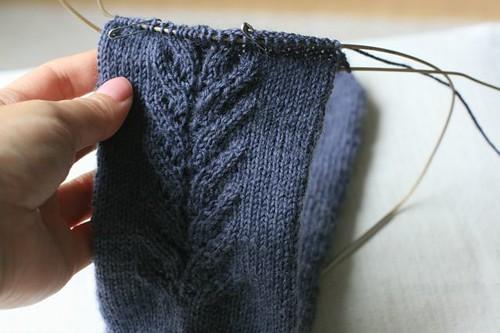 segunda (mesmo!) meia de tricô