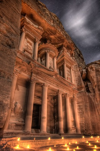 The Treasury at Night
