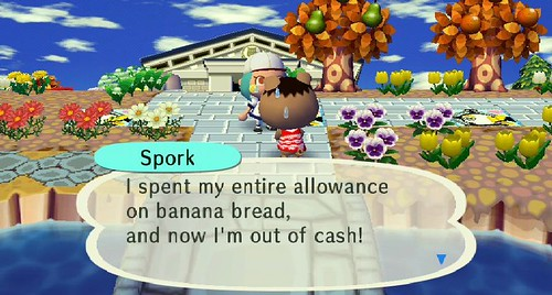 A fool and his money are soon parted, Spork