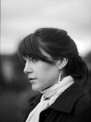 Alice (Michael Kalus) Tags: november portrait canada vancouver bc hc110 2009 80mm efke25 mamiya645protl kodakhc110 epsonv700 alicek adoxchs25art identitykrysis