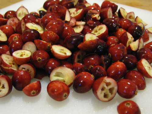 I know some dont love cranberries but I can eat them raw. Yum!