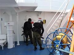 Kameruni eriväed laeva peal