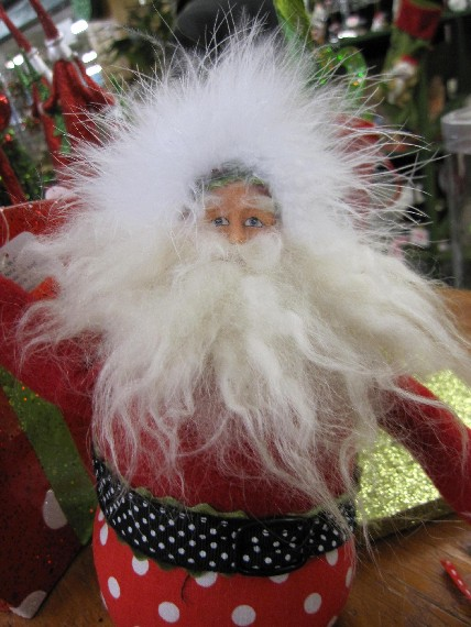 Hairy Santa