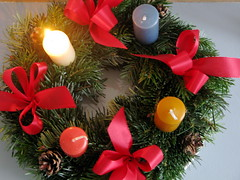 First (Lillian Day) Tags: candles advent adventwreath