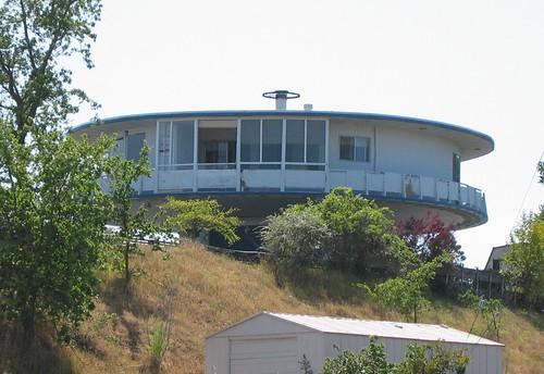 Harkleroad Space-Age Round House Novato CA