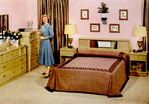 1950s bedroom furniture mid century living early 50s bedrooms 1950 55 10009